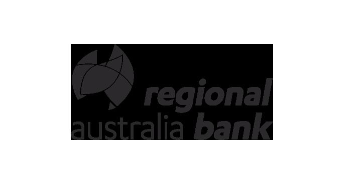 Client logos - Regional Australia Bank